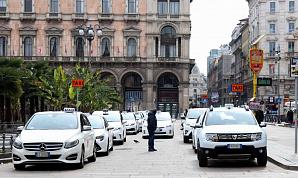 100 тысяч масок раздали миланским таксистам