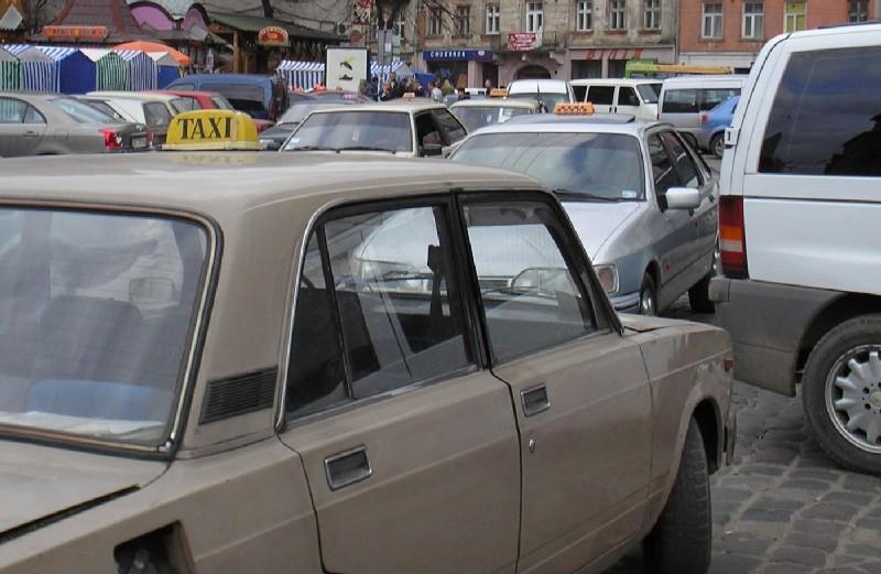 Проверки львовского такси