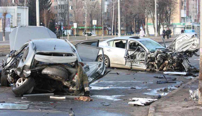 В Виннице умер таксист, в которого на огромной скорости влетела иномарка