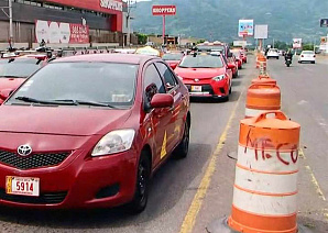 Таксисты Коста-Рики протестуют против Uber