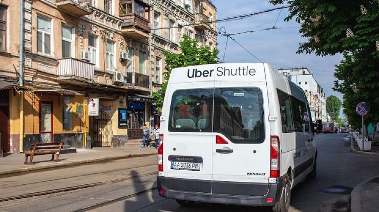 Uber Shuttle является нелегальным перевозчиком