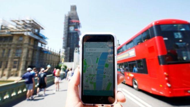 Uber оспаривает в суде запрет работать в Лондоне