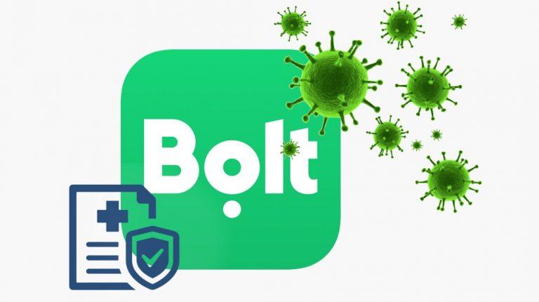 В Bolt решили страховать своих водителей от COVID-19