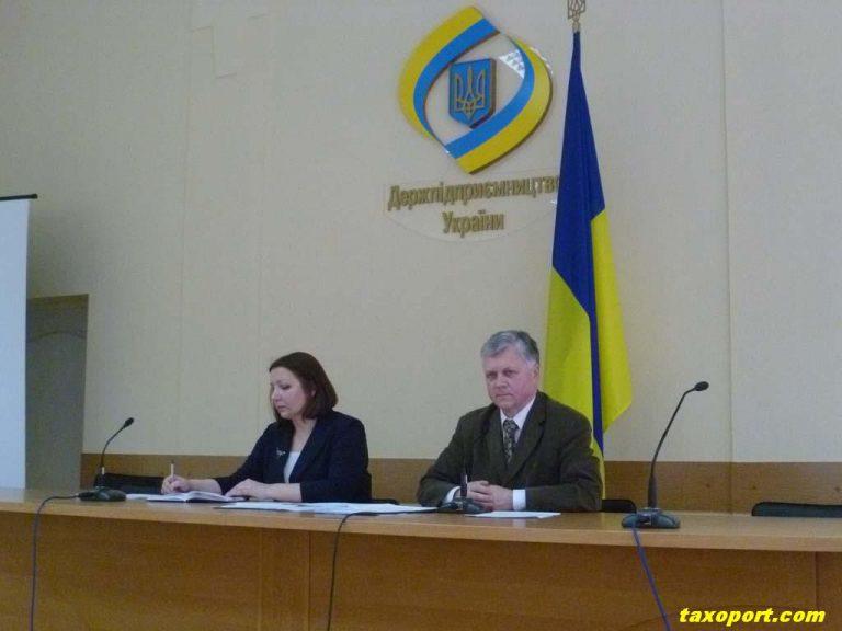 Третьяков представил новый законопроект. Совещание в Госкомпредпринимательства 10 декабря 2010