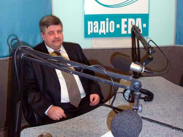 Анатолий Галазюк в программе «На слуху» радиокомпании Эра FM