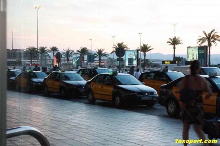 Такси в Каталонии (Испания). А как у них?