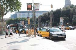 Такси в Испании. Каталония