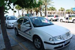 Такси в г. Салоу