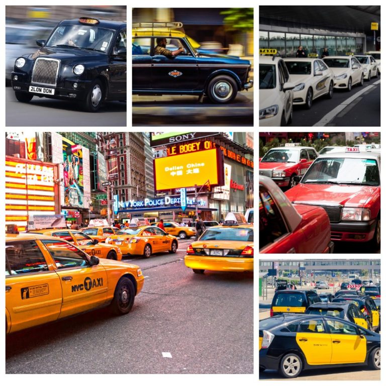 Иконы такси: Где самые известные такси?