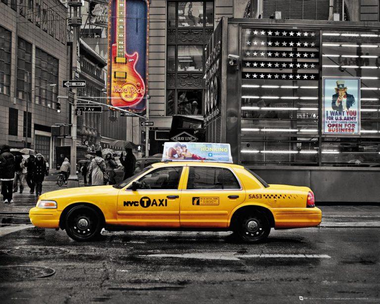 Нью-Йорк против нелегальных такси