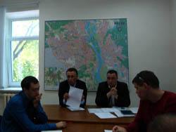 Рабочая группа по упорядочению перевозок пассажиров на такси в Киеве провела пятое заседание