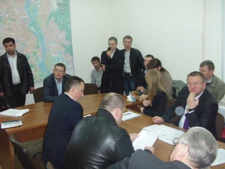 20 квітня 2012 відбулось третє засідання Робочої групи при КМДА з впорядкування таксі у м. Києві