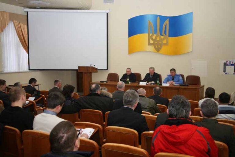 Встреча в Департаменте ГАИ с руководителями ПСТУ