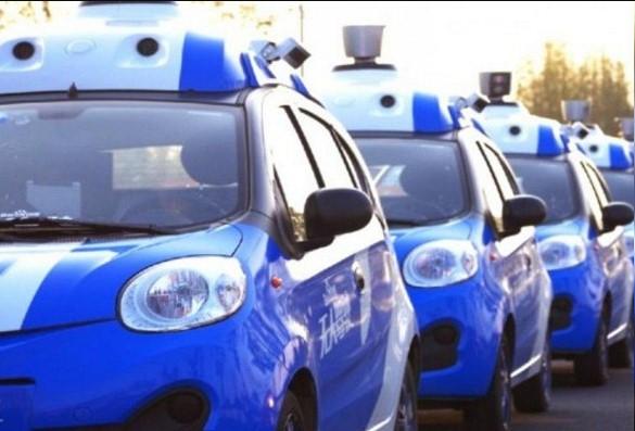 В Китае запустили беспилотное такси