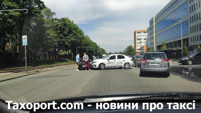 В Киеве Uber столкнулся с Kia