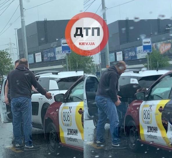 В Киеве дтп за участием «Такси 808»