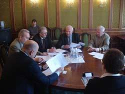 Первое заседание Комитета предпринимателей сферы транспорта при Торгово-промышленной палате Украины