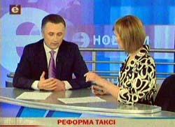 Андрей Антонюк в программе «Эксперт на связи» телекомпании «Эра» 21 апреля 2012 года