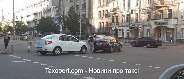 ДТП с Uber в Киеве