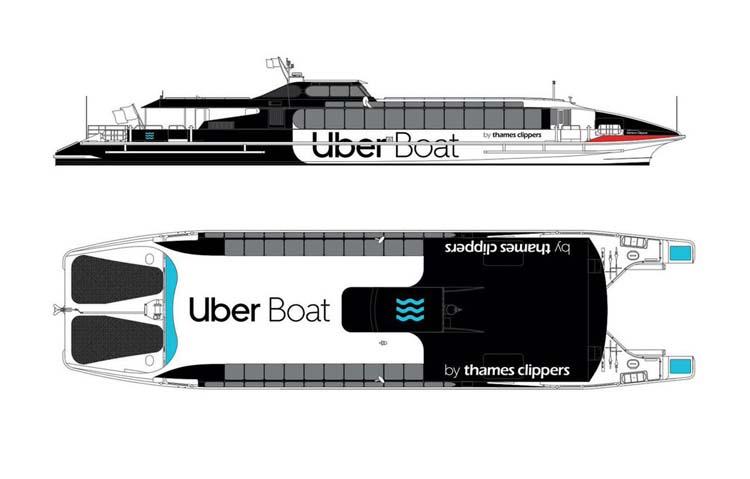 У Лондоні з'явиться Uber Boat.