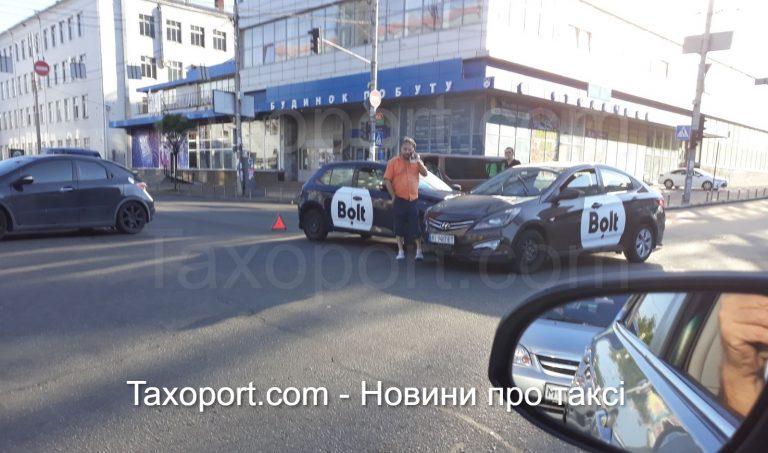 В Киеве очередное двойное ДТП с Bolt