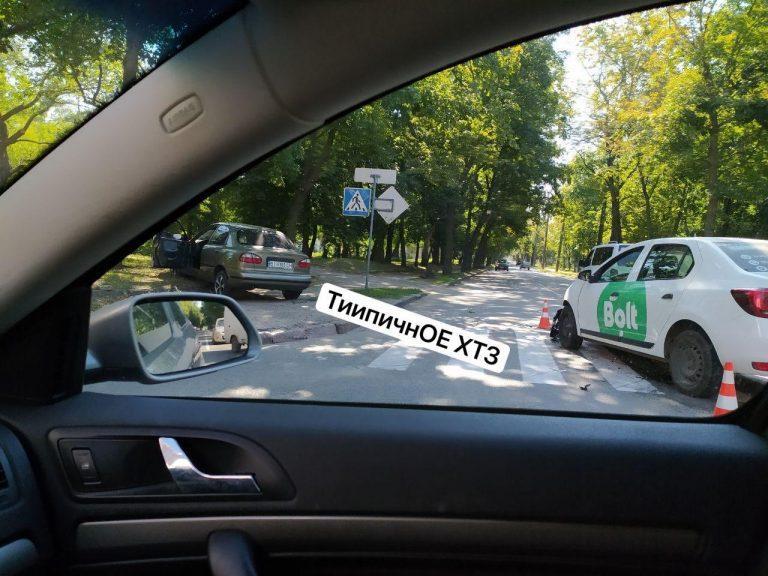 В Харькове Bolt не поделил дорогу с Lanos (Видео)