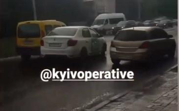Bolt попал в ДТП в Киеве