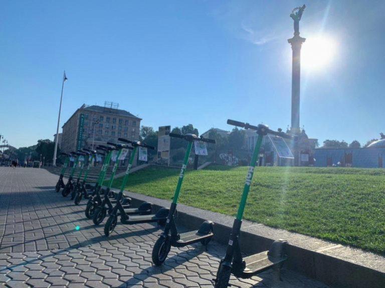 Сервис Bolt запустил в Киеве прокат электросамокатов