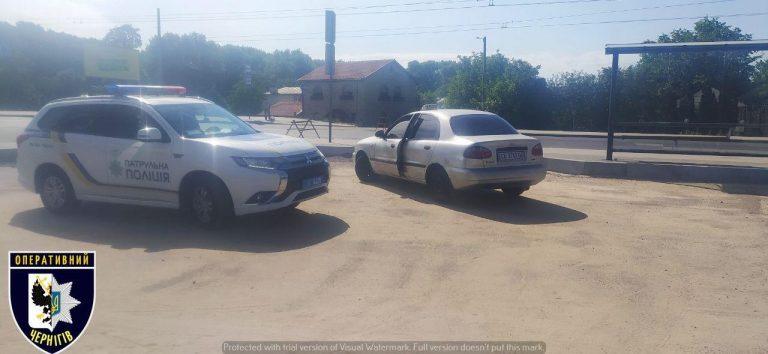 Чернігівський таксист, 11 протоколів за керування в стані алкогольного сп'яніння