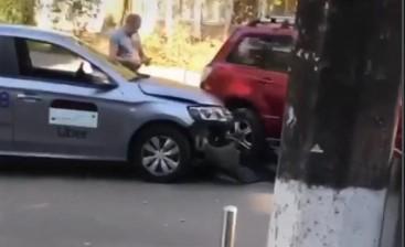 В Киеве очередное ДТП с Uber