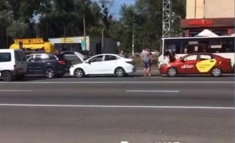 В Киеве авария с Uklon
