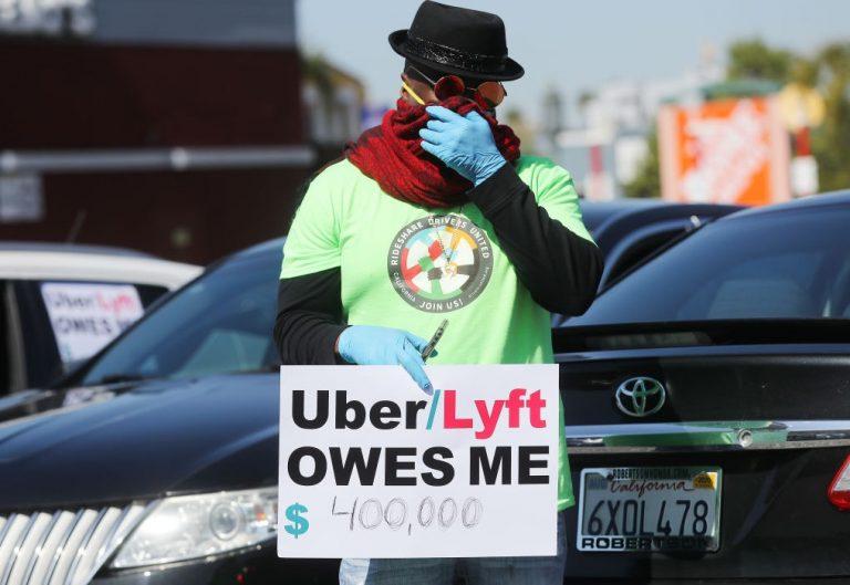 Борьба водителей Uber и Lyft против статуса независимого подрядчика не утихает