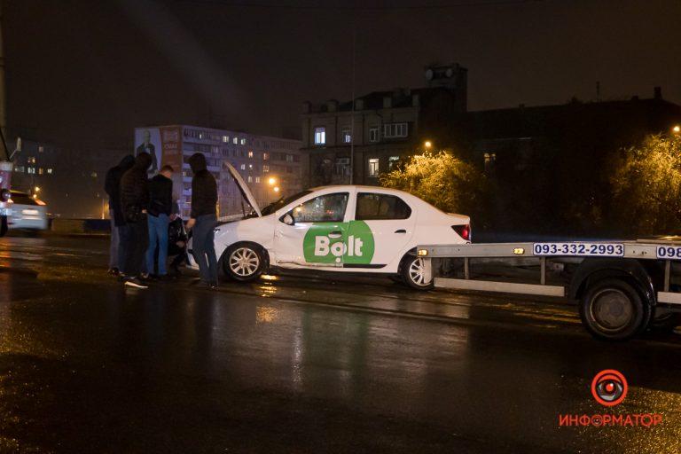 В Днепре очередное ДТП с Bolt, виноват навигатор