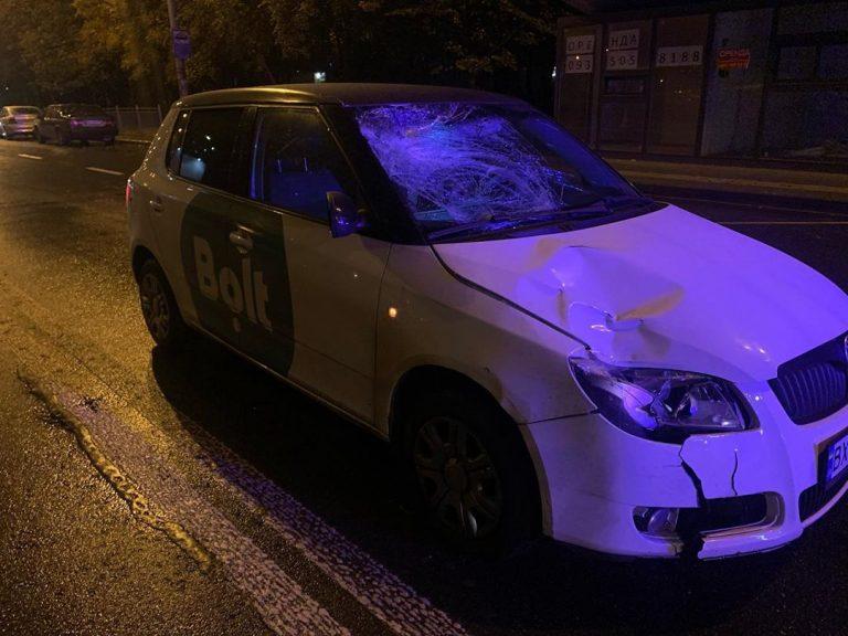 У Києві Bolt збив пішохода-порушника