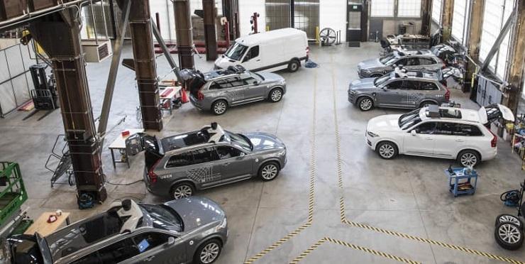 Uber продает подразделение беспилотных автомобилей