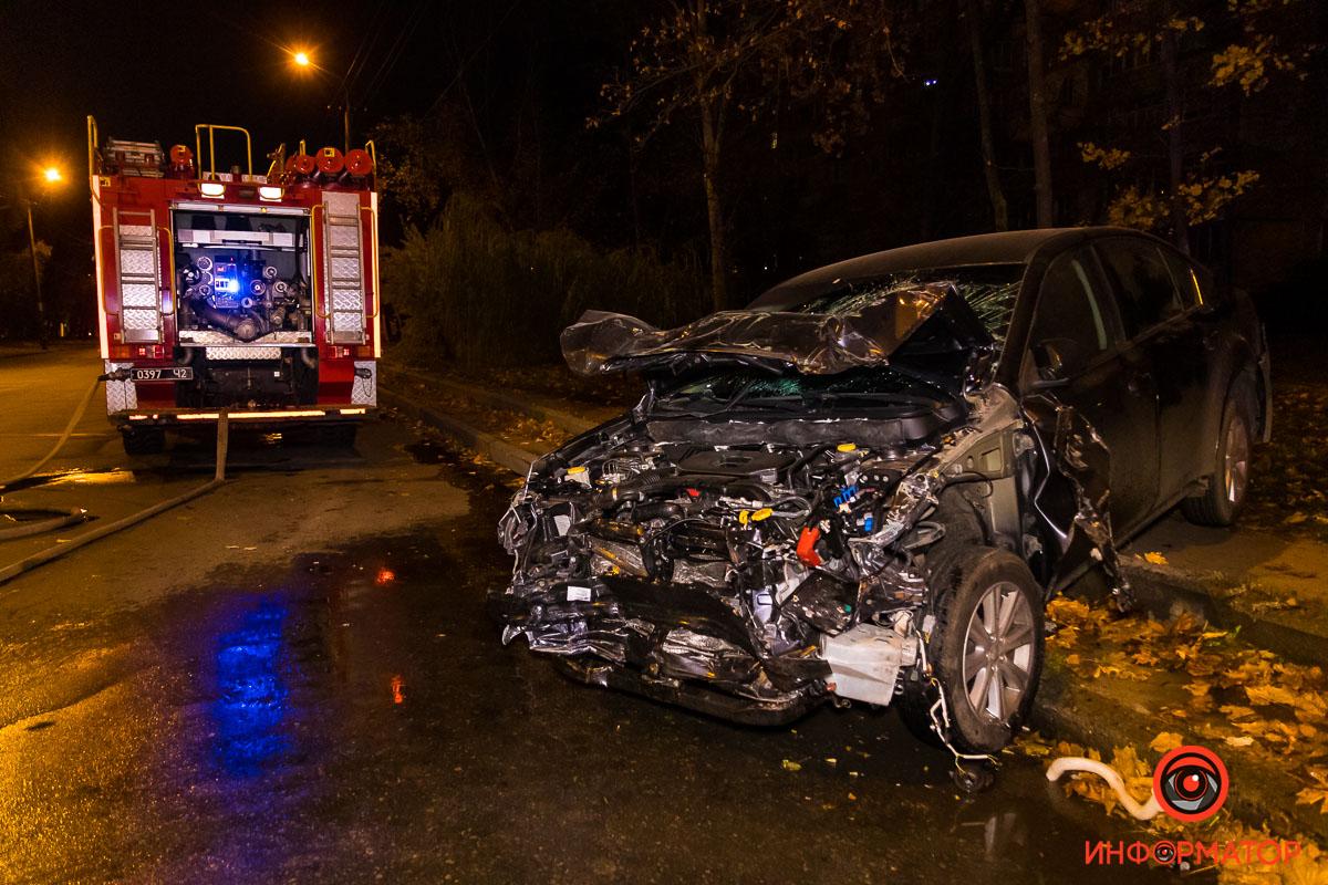 Повреждения Subaru