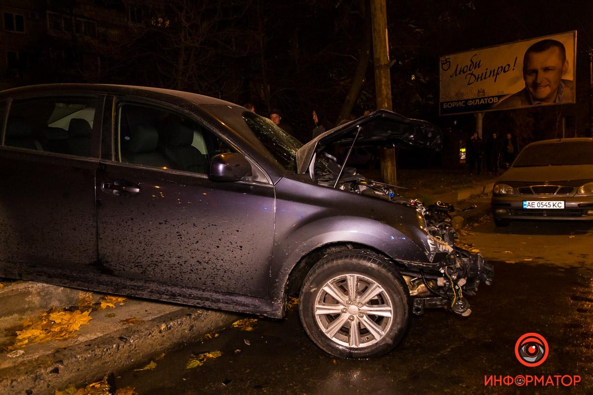 Водителя забрала скорая в больницу имени Мечникова
