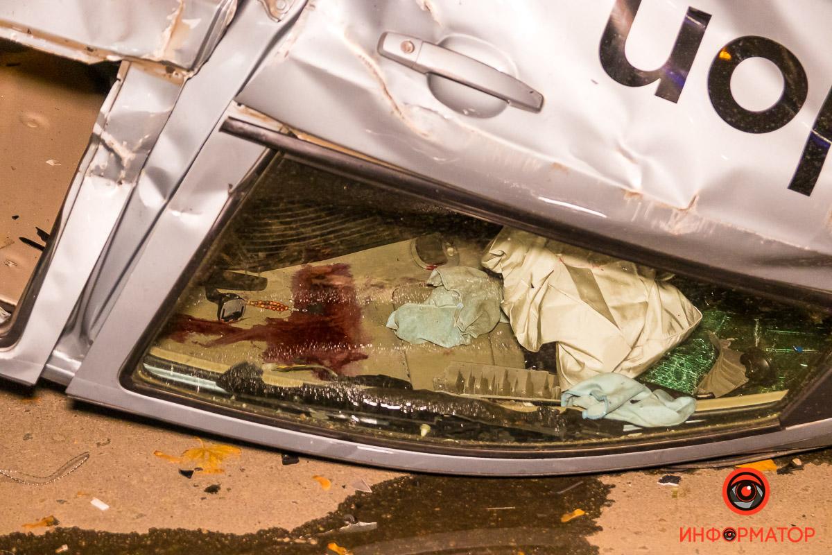 Водителя из ЗАЗ достали еще до приезда полиции
