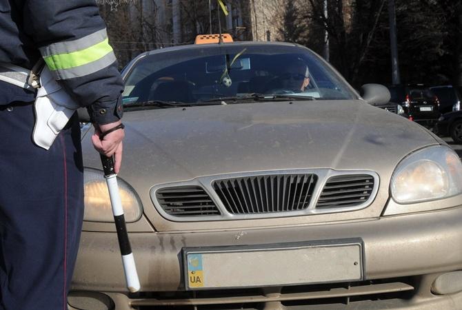 В Белой Церкви у таксиста 7 раз забирали права, но он продолжает возить пассажиров