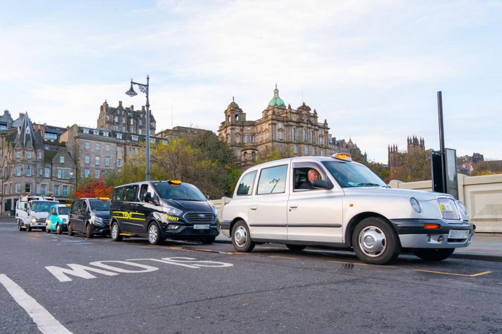 такси в Шотландии