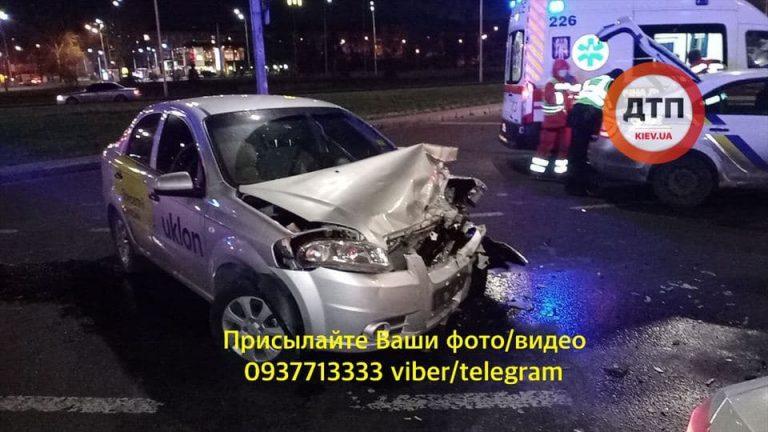 Нічне ДТП з Uklon у Києві