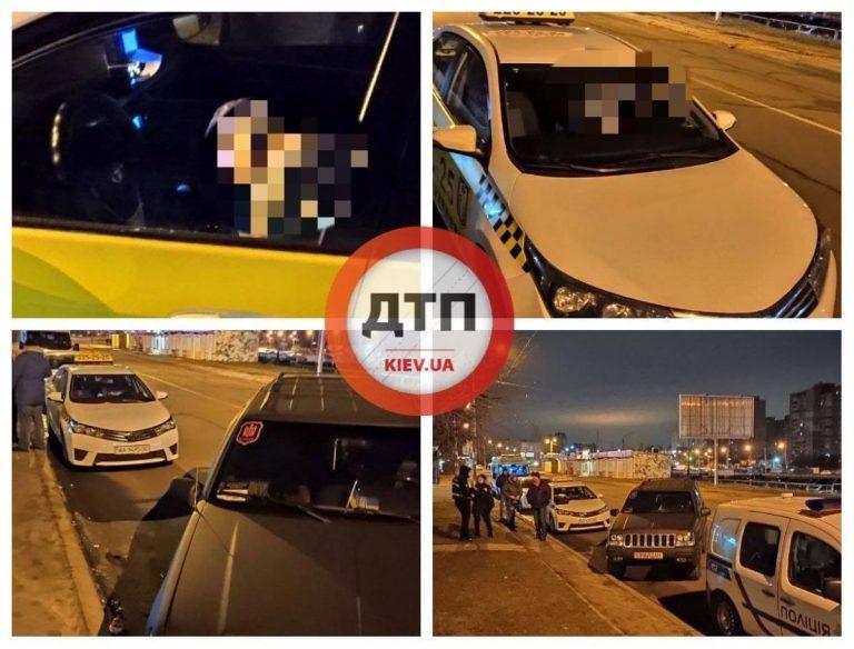 У Києві помер водій таксі за кермом автомобіля.