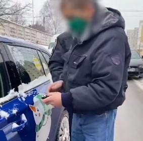 Без прав та нетверезий: у Києві патрульні зупинили водія Bolt, 2.9 проміле