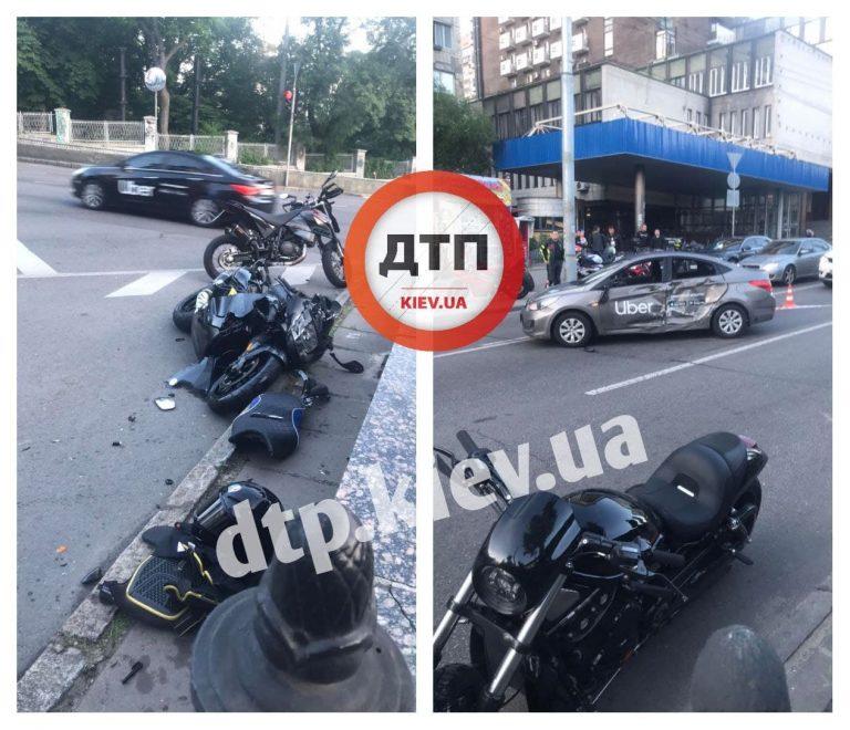 В Києві смертельне дтп з Uber і мотоциклістом