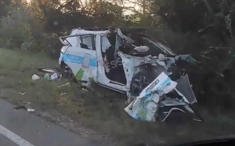 Смертельна ДТП на Одещині – таксист залетів під вантажівку
